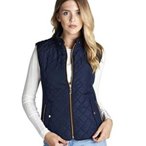 Fall Mid-Weight Quilted Vest- Size M